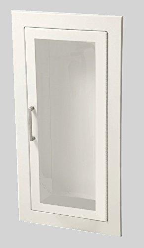 JL Industries 1015F10 Full Glass Flat Trim Extinguisher Cabinet by J L Industries
