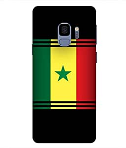 ColorKing Football Senegal 06 Multi Color shell case cover for samsung S9