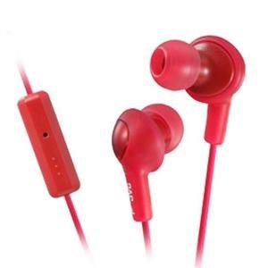- JVC America Genuine Gumy Plus Headphone Red