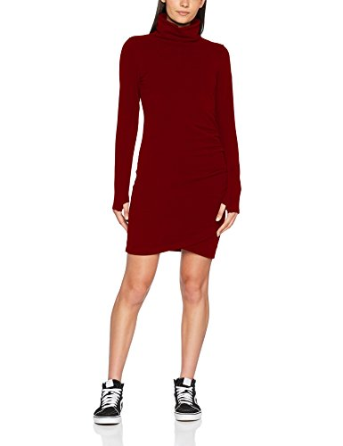 Funnel Rd11343 cabernet Bench Donna Dress Vestito Slim Rosso 5FZqCUw