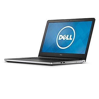 "Dell Inspiron 15 I5559-4681SLV 15.6"" Touch Notebook (Core i3-6100U, 6GB RAM, 1TB HDD), with Windows 10, Silver"