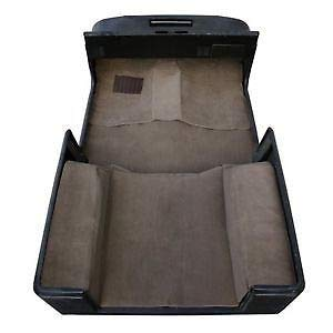 Michco Jeep Wrangler YJ 1987-1995 Deluxe 6-Piece Complete Carpet Set- Spice