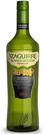 Yzaguirre Vermouth Blanco Reserva - 3 botellas x 1000 ml - Total: 3000 ml