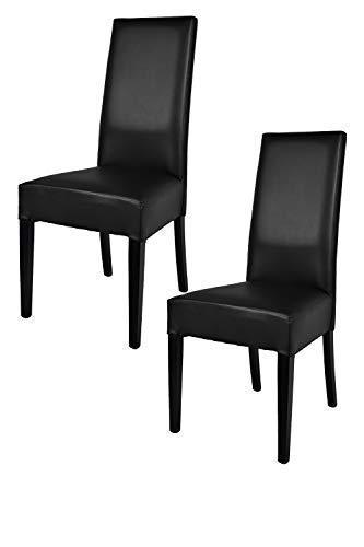 Stühle Küche | Tommychairs 2er Set Moderne Stuhle Luisa Fur Kuche Und Esszimmer