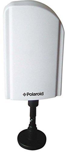Polaroid Amplified Indoor/Outdoor HDTV Antenna, White