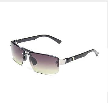 LONYENMA Gafas De Sol para Hombre Gafas De Sol Rectangulares ...