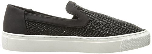 STEVEN by Steve Madden Womens Kenner Fashion Sneaker Black Jlp9msM