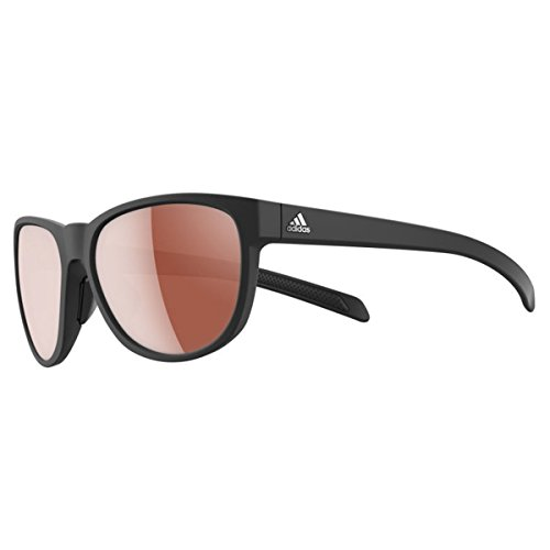 Adidas A425/00 6051 Black Wild Charge Square Sunglasses Driving Lens Category - Charge Sunglasses