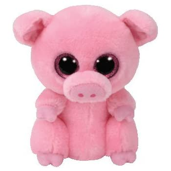 dc9f13d48a1 Amazon.com  Ty Beanie Boos Buddies Corky The Pig  Toys   Games