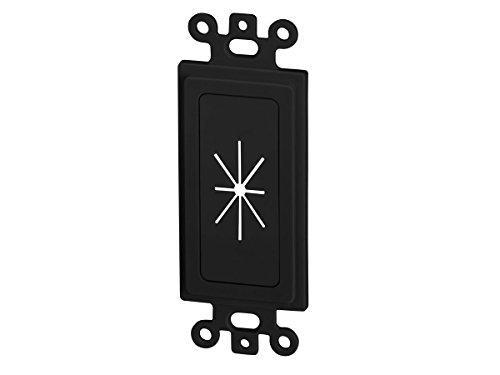 Insert Decor (Monoprice Decor Insert with Flexible Opening, Black (112579))