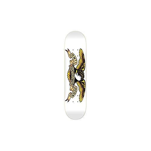 (Anti Hero White Classic Eagle - 8.75 Inch Skateboard Deck (Default , White))