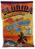 Crab Seasoning (Florida Seafood Seasonings Crab & Shrimp Boil Garlic Butter -- 5 oz)