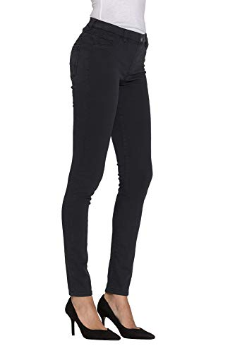Es Carrera Extensible Jeans Tejido Para Liso M Jeggings Mujer Color aa8q0rx