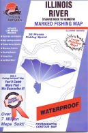 Illinois River Fishing Map - Starved Rock to Hennepin (Illinois Fishing Series, M352)