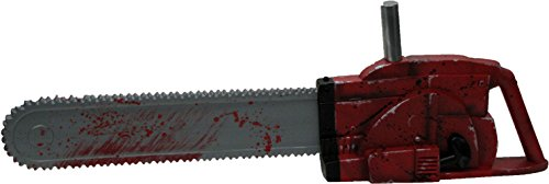 Texas Chainsaw Massacre 3D Chainsaw with Sound, Red, One Size