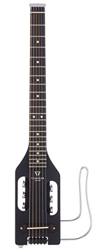 - Traveler Guitar ULST BLK Ultra-Light Steel Acoustic/Electric Travel Guitar (Black)