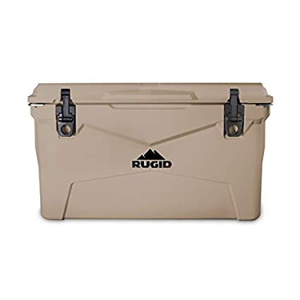 Amazon.com: Rugid 35 Quart Roto Cooler cofre de hielo con ...