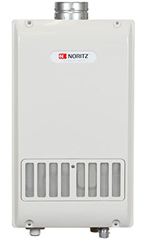 Noritz  NR981-SV-LP  Indoor/Outdoor Tankless Water Heater 9.8 Gpm Designed for 4-Inch Single Wall, Class Iii Venting, Liquid Propane (Heater Water Gas State)