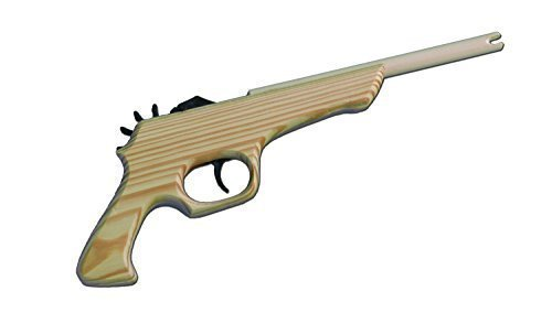 Lugar 12-Shot Rubber Band Gun - MOST AMAZING & SAFE FUN EVER!