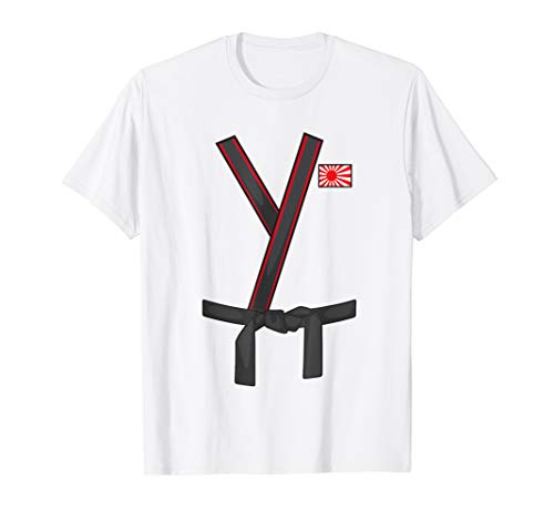 Karate Black Belt Costume Shirt - Funny Taekwondo Gift Tee -
