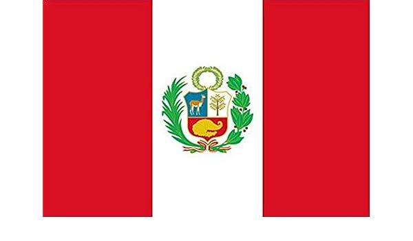 RUNFON 150 cm x 90 cm Perú Bandera Perú: Amazon.es: Deportes y aire libre