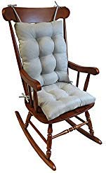 Klear Vu Omega Rocking Chair Pad Set Seat: 17 x 17 x 3 inch Seat Back: 17 x 21 x 3 inch, ()