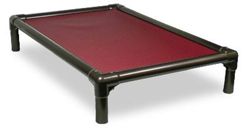 amazoncom kuranda walnut pvc chewproof dog bed xxl 50x36 40 oz vinyl royal blue pet beds pet supplies