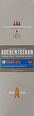 Auchentoshan 18 Años Single Malt Whisky Escoces, 43% - 700 ml