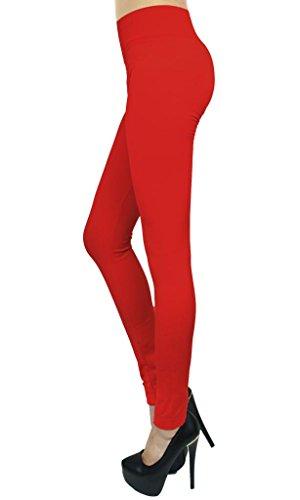 Womens Fleece Leggings Colors SNJ product image