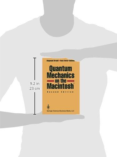 Quantum Mechanics on the Macintosh(R)