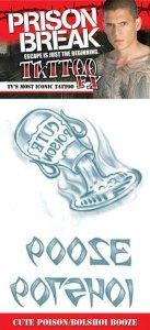 Prison Break poison bolshoi bz Tattoos