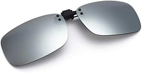 Cyxus Polarized Lenses Classic Clip-On Sunglasses[Anti-glare][UV Protection]Driving/Fishing Outdoor unisex Eyewear