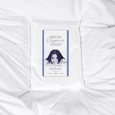 BedCare Elegance Comforter Cover - White Full/Queen