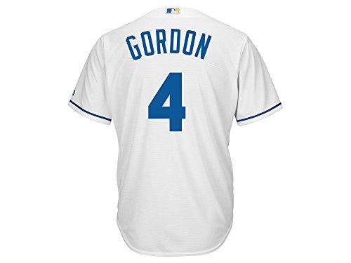 (Majestic Athletic Kansas City Royals Alex Gordon 2015 Cool Base Home Jersey XL)