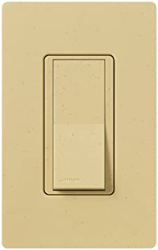 Lutron Claro On//Off Switch SC-3PS-ES 3-Way 15 Amp Eggshell