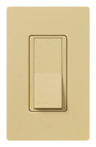 Lutron SC-3PS-GS Diva 15-Amp, 120-Volt to 277-Volt 3-Way Switch in Goldstone by Lutron