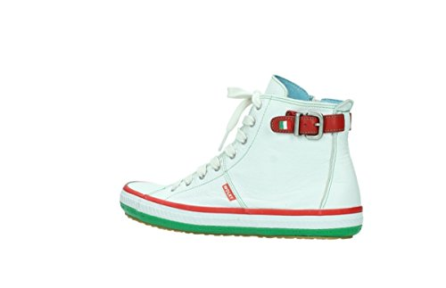 Wolky Comfort Sneakers Biker 90120 Offwhite Leather 7KGivLs20