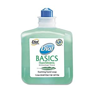 Dial. Professional 06060 Basics Foaming Hand Soap Refill, 1000 ml. Honeysuckle