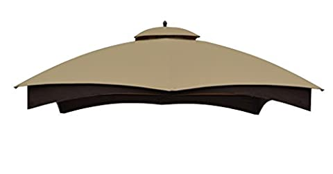 Replacement Canopy Top for the Lowe's 10' x 12' Gazebo Model #GF-12S004BTO / GF-12S004B-1 (Allen Roth Covers)