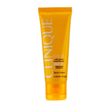 Clinique - Sun SPF 30 Face Cream UVA/UVB -50ml/1.7oz derma roller facial 0.5 Micro Needles roller Titanium microneedle derma roller Derma Roller for face Skin Care Face Massage Roller Tool