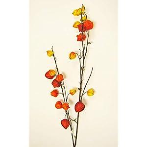"Darice MC-7735A Everyday Long stem Chinese Lantern 44"" Orange Yellow 7"