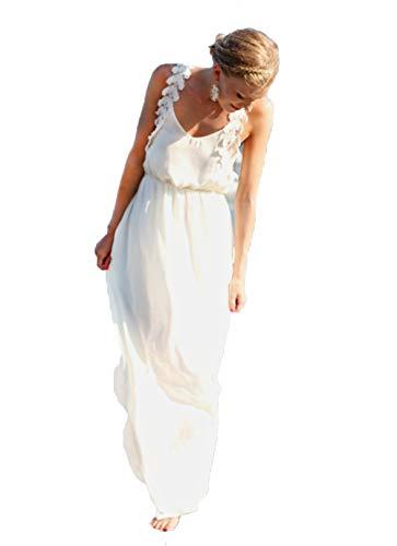 Wander Agio Womens Long Dress Bikini Cover Up Beach Swimear Coverups Robe White Dresses Color 25