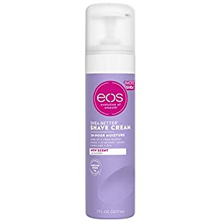 eos Shea Better Shaving Cream for Women - Lavender | Shave Cream, Skin Care and Lotion with Shea Butter and Aloe | 24 Hour Hydration | 7 fl oz