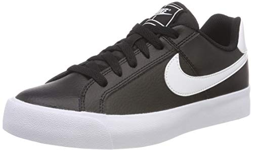 001 White Tennisschuhe Ac Court NIKE Schwarz Royale Damen Black xSaCz8