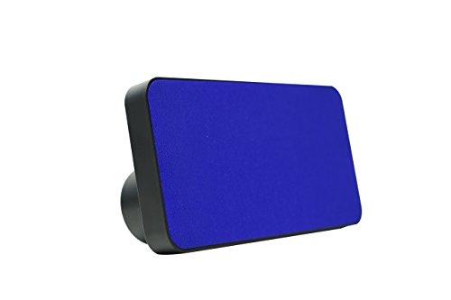 Polaroid Bluetooth Wireless Slim Stereo Speaker, Rechargeable, Portable (Blue)