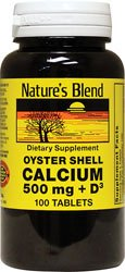 Oyster Shell Calcium with D3 100 Tabs
