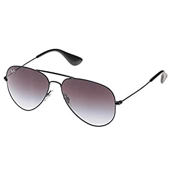 Ray-Ban Aviator Youngster Gradient Gray Unisex Sunglasses - RB3558-002/8G