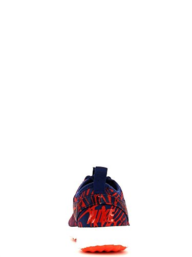 Nike Damen Wmns Juvenate Print Turnschuhe, Blau, 38 EU Azul (Lyl Bl / Unvrsty Rd-Brght Crmsn)