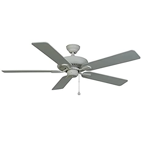 Harbor breeze 52 in white classic indooroutdoor ceiling fan harbor breeze 52 in white classic indooroutdoor ceiling fan mozeypictures Gallery