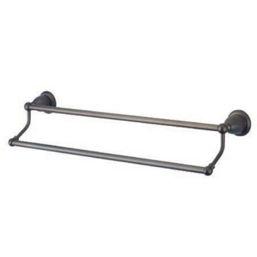 Kingston Brass BA1753ORB Heritage 24-Inch Double Towel Bar, Oil Rubbed -